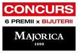 6 x bijuterie Majorica (pereche de cercei Majorica/colier Majorica/brosa Majorica)