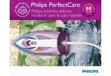 1 x fier de calcat Philips PerfectCare Azur