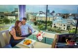 3 x cina romantica deasupra Bucurestiului la Silk Panoramic Restaurant