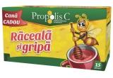 10 x Family Pack – Propolis C Raceala si Gripa Kids cu cana CADOU + Propolis C Echinacea Forte 33% cadou