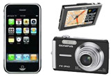 "Camera foto digitala Olympus FE-340, GPS Myo C-720, Apple iPhone 16 GB<br type=""_moz"" />"