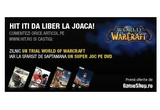 20 x trial World of Warcraft, 4 x joc pe DVD