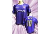 un tricou original al echipei Fiorentina cu numele lui Mutu<br />