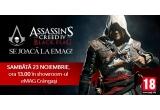 1 x console Xbox 360 Kinect, 1 x jocuri Assassins Creed IV: Black Flag Skull Edition, 1 x hanorace AC4, 1 x geanți de voiaj AC4, 1 x jurnale AC4, 1 x ceasuri de buzunar AC4, 1 x saculeti cu monede AC4, 1 x brelocuri AC4