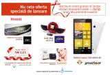 1 x Telefon Nokia Lumia 520, 1 x Lady Bug, 4 x premiu constand in cosmetice Babaria, 1 x brațara de argint cu pietre, 1 x voucher valoric de 500 de lei oferit Sanatatea SPA