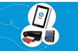 1 x tableta HP Slate 7, 2 x imprimanta HP Deskjet Ink Advantage 552, 5 x geanta HP Urban Courier Bag
