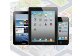 1 x iPhone 4, 1 x iPad 2, 2 x Samsung Galaxy Tab2, 48 x umbrela personalizata cu logo