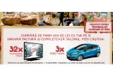 3 x masina Ford Fiesta, 32 x televizor Finlux