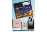 zilnic: colectie de 2 CD-uri Magic Carols & the City, saptamanal: set de parfumuri: unul pentru tine si unul pentru jumatatea ta, in fiecare vineri: pachetul complet de 16 volume Enciclopedia Britannica