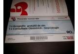 10 x voucher ce include o ecografie gratuita la san + consultatie la obstretica-ginecologie valabil la clinicile Anima din Bucuresti