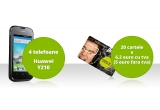 4 x smartphone Cosmote Xplore, 20 x cartela Cosmote, 20 x invitatie la petrecerea de Revelion- Supervelionul PRO FM 2013-2014