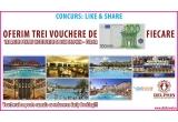 3 x voucher cu reducere de 100 de euro / camera valabil in reteaua de hoteluri Delphin – Turcia