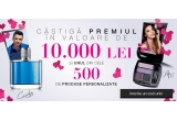 1 x 10.000 ron, 500 x produs Avon personalizat