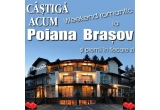 "1 x weekend romantic la Pensiunea Mont Blanc din Poiana Brasov, 13 x produs cosmetic BIO-Cosmetics + CD-uri ""From Romania With Love"" de la Cvartet Anima"