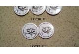 1 x insigna cu troll + 2 insigne me gusta, 1 x 2 insigne me gusta, 1 x insigna me gusta