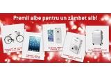 4 x iPhone 5C, 4 x iPad mini, 4 x bicicleta de oras Ideal City Life, 4 x camera foto digitala Nikon S01, 4 x troller Samsonite