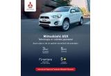 1 x test drive pentru un weekend cu un model Mitsubishi ASX 4x4 Diesel AT cu plinul facut