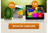 1 x tableta E-BODA X400QC, 25 x set de carti despre cele mai frumoase obiective turistice si traditii culinare din zona Muntilor Apuseni