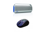 1 x boxa portabila Logitech UE Boombox, 2 x mouse Logitech m325 Wireless Mouse Colour Collection