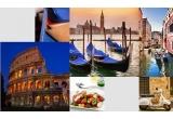 1 x city break la Venetia, 1 x city break la Roma, 1 x city break la Milano