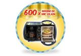 600 x aparat de bucatarie multifuncional