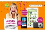 "1 x tableta de culoare alba SAMSUNG Galaxy Tab3 Lite 7.0"" 8GB, 1 x telefon mobil NOKIA 520 Lumia, 1 x aparat foto digital SONY DSC-W710"