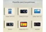 33 x tableta Samsung Galaxy Tab 3 8″, 10 x smartphone Samsung Galaxy S4 Zoom, 15 x tableta Samsung Galaxy Tab 3 10.1″, 10 x aparat foto Samsung NX300, 5 x tableta Samsung Galaxy Note 10.1″, 23 x aparat foto Samsung NX2000