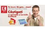 1 x iPad Air 64 GB 4G, 140 x voucher cadou Kaufland de 50 ron