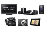 3 x (o Camera Sony + un Aparat foto Sony + o Rama digitala Sony),<br />