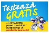 1 x pandantiv cu cristale Swarovski