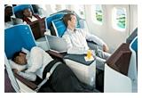 1 x 2 bilete de avion intercontinentale cu KLM World Business Class