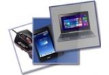 1 x laptop Asus Transformer Book T100, 3 x Tableta Asus Fonepad ME371MG, 12 x mouse Asus ROG GX-950