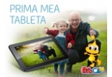 1 x tableta UTOK 700Q + colectie de 10 aplicatii EDU de la PitiClic, instant: voucher UTOK de reducere 5%