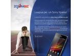 1 x smartphone Sony Xperia SP Black