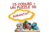 1 x excursie la Schonnbrunn Zoo, 15000 x puzzle Barni 3D