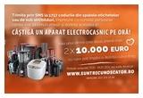 2 x 10.000 euro, 564 x aparat electrocasnic Russell Hobbs