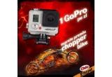 1 x Chopper Bike, 42 x camera video sport GoPro Hero 3+, 6 x bax de Chio Xtreme