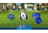 21 x six-pack de doze Pepsi Ginga, 18 x minge de fotbal Puma, 18 x echipament sportiv Puma (tricou + short + jambiere), 3 x intalnire cu Gica Hagi