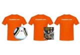 1 x Brazuca - mingea oficiala a Campionatului Mondial 2014 + tricou Tippinho.com, 1 x tricou Tippinho.com, 1 x joc de fotbal cu carti + tricou Tippinho.com