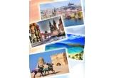 1 x vacanta de 7 zile all inclusive in Tunisia, 1 x city break la Praga, excursii la munte, premii surpriza