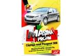 1 x masina Peugeot 308, 100 x card de asistenta rutiera 9695