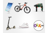 2 x iPad Air, 2 x Mountain Bike, 2 x bormasina Bosch, 2 x trotineta, 2 x pereche de tenisi Converse