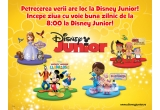 1 x tableta Samsung Galaxy Tab 3 Lite, 10 x goodie-bag cu produse Disney Junior