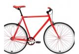 1 x bicicleta Single Speed rosie, 5 x caști Melon Helmets