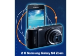 2 x smartphone Samsung Galaxy S4 Zoom