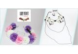 2 x accesorii handmade Lady Velvet Atelier, 6 x produse de make-up Flormar