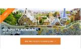 1 x 2 bilete de avion la Barcelona
