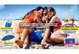 1 x excursie de 4 persoane in Romania, 336 x umbrela de plaja Pepsi, 6 x vitrina frigorifica Pepsi, 100.000 x bax de Pepsi
