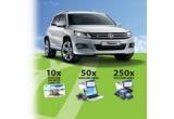 1 x masina Volkswagen Tiguan, 10 x voucher vacanta in valoare de 5.000 lei, 50 x voucher eMAG in valoare de 2.000 lei, 250 x voucher eMAG in valoare de 500 lei