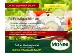 1 x 3 cosuri cu produse Monini, 1 x 3 oliviere, 1 x pachet alcatuit din 3 sticle Monini Aromattizzati, instant: tocator Monini